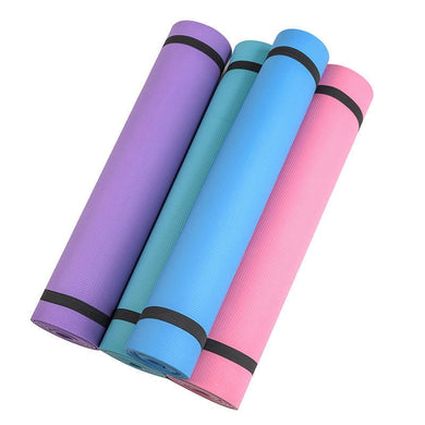 1Pc 173cm 6mm Non-slip Yoga Mats Fitness Foldable Fitness Environmental Gym Exercise Pads