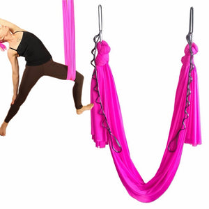 Yoga Flying Swing Anti-Gravity yoga hammock fabric Aerial Traction Device Yoga hammock Equipment for Pilates body shaping