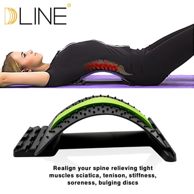 Yoga Mat Waist Massage Flexibility Training Gym Sports Waist Correction For Exercise Yoga And Pilates