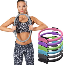 Load image into Gallery viewer, Yoga Pilates Ring Magic Circle Fitness Slimming Body Building Yoga Circles Yoga wheel Crossfit Rings Yoga Accessories