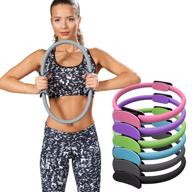 Yoga Pilates Ring Magic Circle Fitness Slimming Body Building Yoga Circles Yoga wheel Crossfit Rings Yoga Accessories
