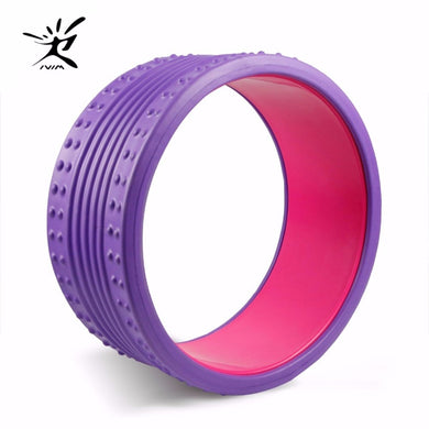 Yoga Wheel Eva Massage Roller Strongest Most Comfortable Massage Prop Wheel Perfect Circle For Fitness