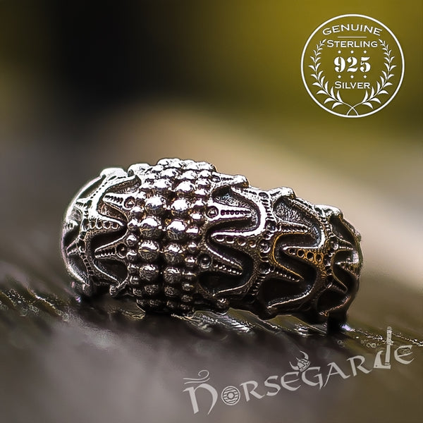 Handcrafted Draupnir Legend Ring - Sterling Silver