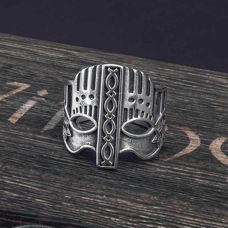 Viking Helm Adjustable Ring - Stainless Steel