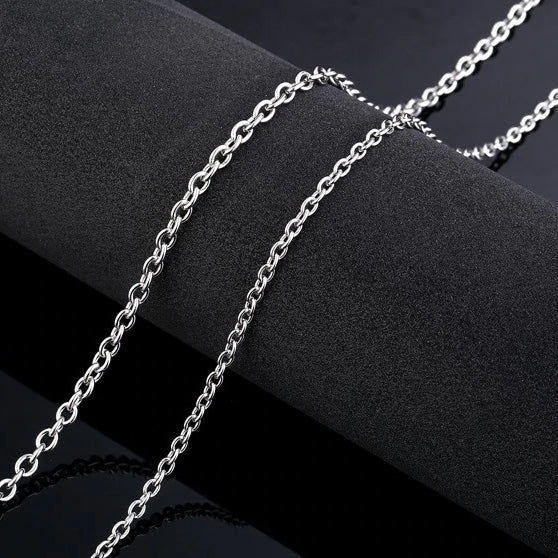 Vintage Chain Necklace - Stainless Steel