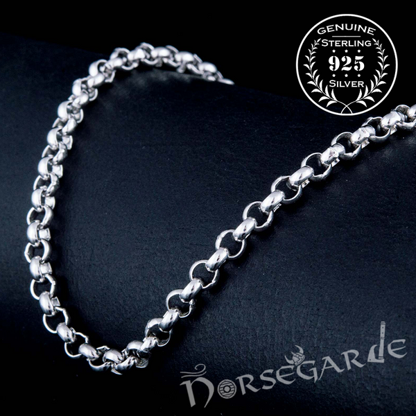 Handcrafted Chain Necklace - Sterling Silver