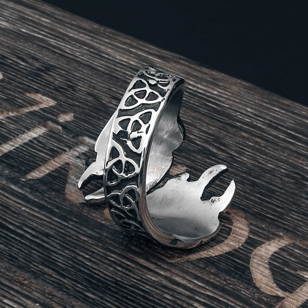 Paws of Veles Ring - Stainless Steel