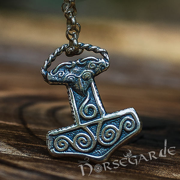 Handcrafted Miniature Scania Mjölnir - Sterling Silver
