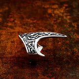 Raven Beak Ring - Stainless Steel