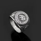 Fenrir Signet Ring - Stainless Steel