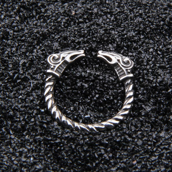Thor's Goats Ring - Stainless Steel