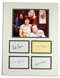 All In the Family O'Connor Stapleton Reiner Struthers Signed 15x20 Matted Display