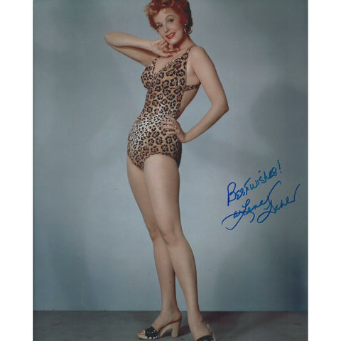 Arlene Dahl Signed 8x10 Photo