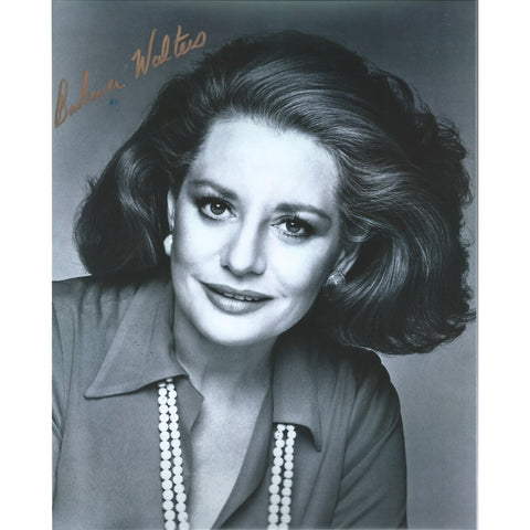 Barbara Walters Signed 8x10 Photo