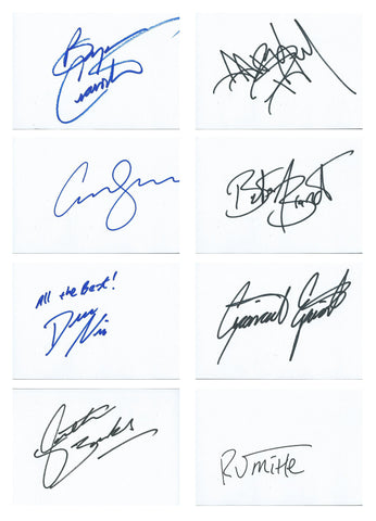 Breaking Bad Signed Card Set