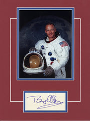 Buzz Aldrin - Matted Display