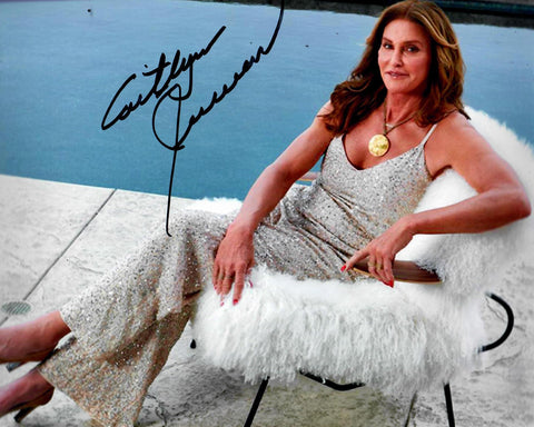 Caitlyn Jenner Signed 8x10 Photo