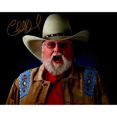 Charlie Daniels Signed 8x10 Photo