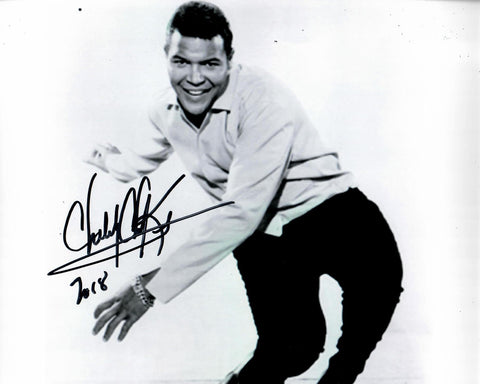 Chubby Checker Signed 8x10 Photo