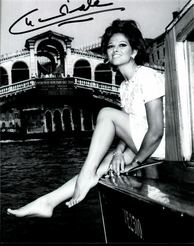 Claudia Cardinale Signed 8x10 Photo