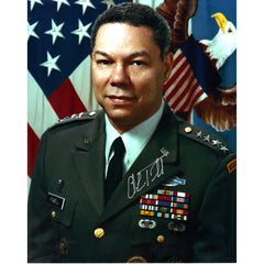 Colin Powell Signed 8x10 Photo