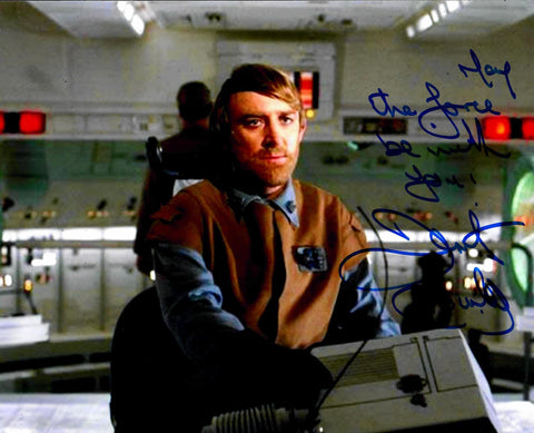Dermot Crowley Signed 8x10 Photo