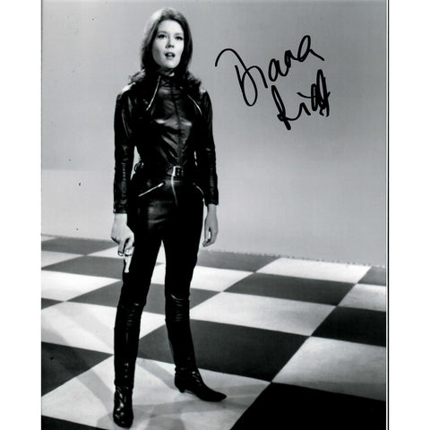 Diana Rigg Signed 8x10 Photo