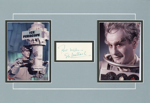 Eli Wallach Signed Matted Display