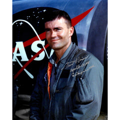 Fred Haise Signed 8x10 Photo