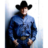 George Strait Signed 8x10 Photo