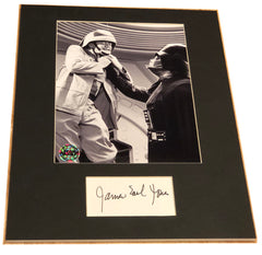 James Earl Jones  Signed Matted Display
