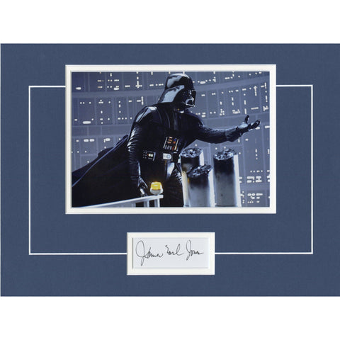 James Earl Jones Signed 12x16 Matted Display
