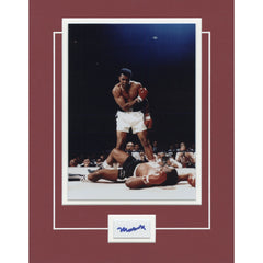 Muhammad Ali Signed 11x14 Matted Display