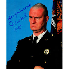Richard Moll Signed 8x10 Photo