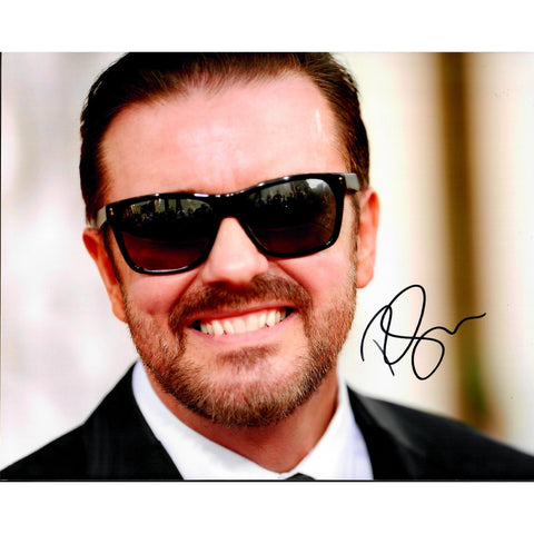 Ricky Gervais Signed 8x10 Photo