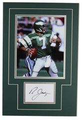 Ron Jaworski Signed 14x18 Matted Display
