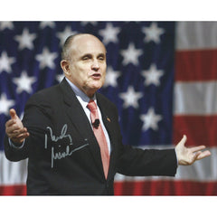 Rudy Giuliani Signed 8x10 Photo