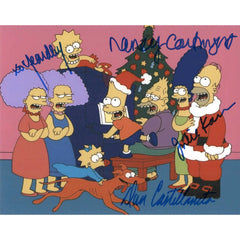 Simpsons Cast Signed 8x10 Photo