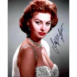 Sophia Loren Signed 8x10 Photo