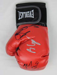 Bleed for This - Signed Boxing Glove