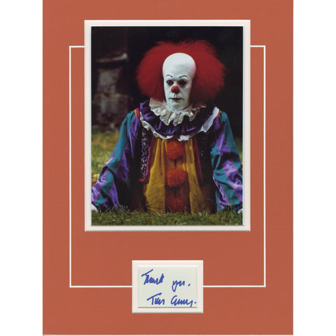 Tim Curry Signed 12x16 Matted Display