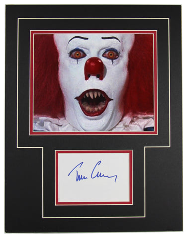 Tim Curry Signed 14x18 Matted Display