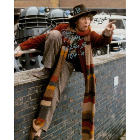 Tom Baker Signed 8x10 Photo