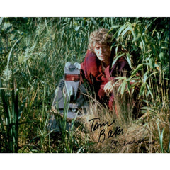 Tom Baker John Leeson Signed 8x10 Photo