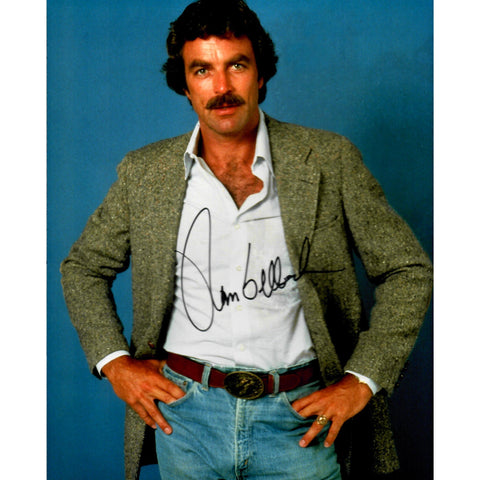 Tom Selleck Signed 8x10 Photo