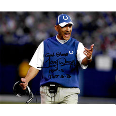 Tony Dungy Signed 8x10 Photo