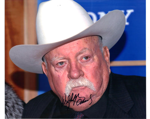 Wilford Brimley Signed 8x10 Photo