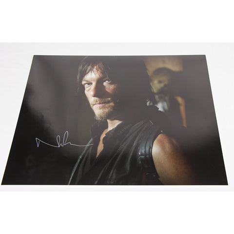 Norman Reedus Signed 16x20 Photo