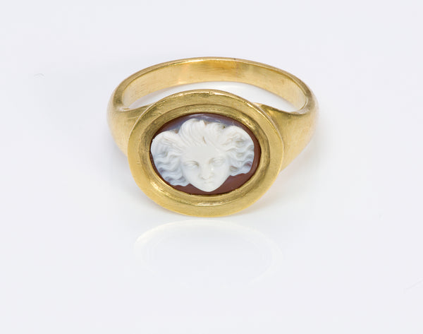 antique cameo ring