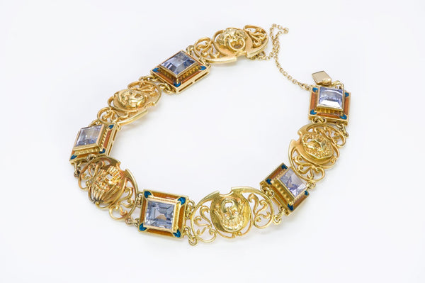 GOLD ANTIQUE BRACELET